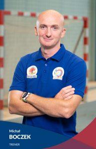 Trener SPR Sośnica Gliwice Michał Boczek
