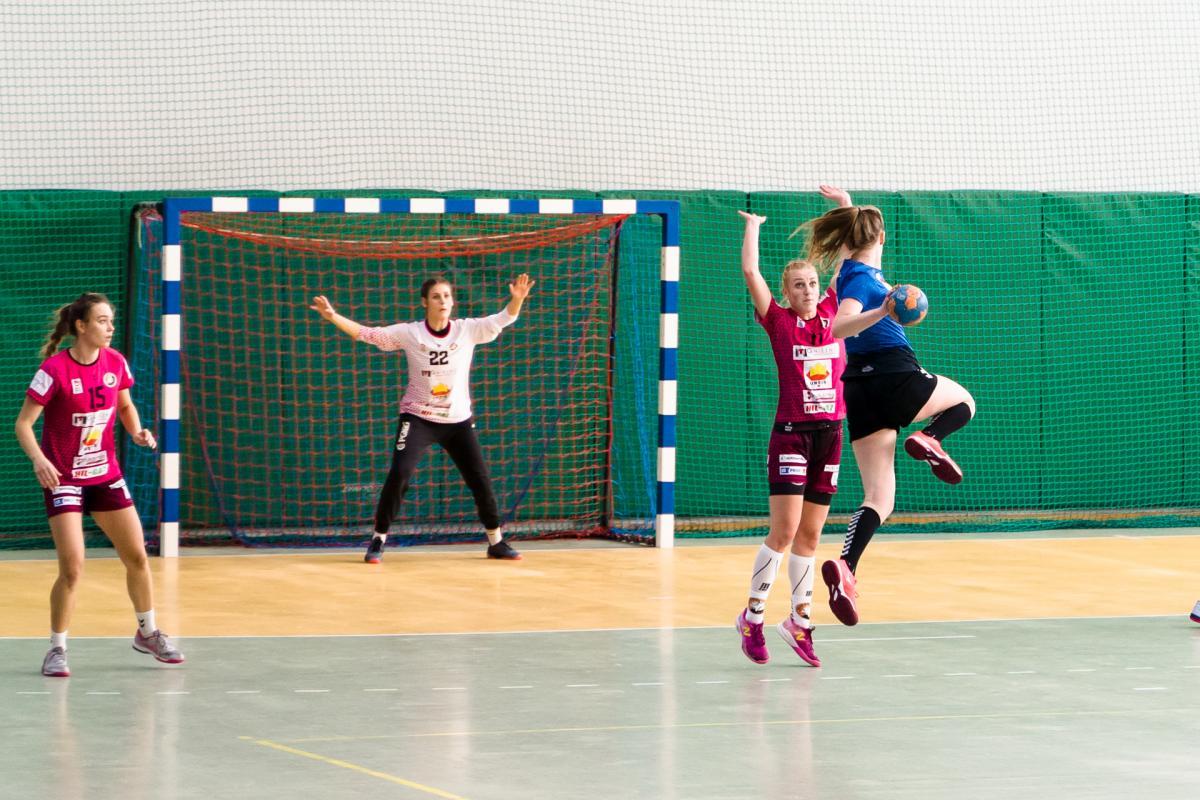 Mecz piłki ręcznej w Gliwicach