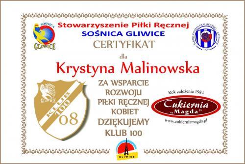 08 certyfikat 2016 2017 Cukiernia Magda