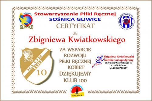 10 certyfikat 2016 2017 Kwiatkowski