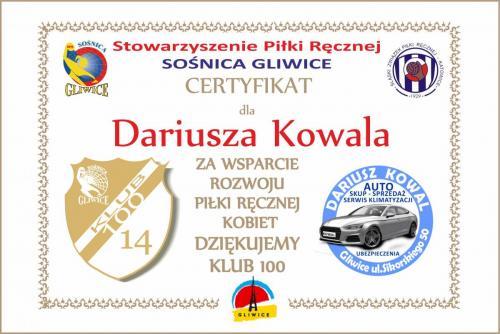 14 certyfikat 2017 2018 Kowal